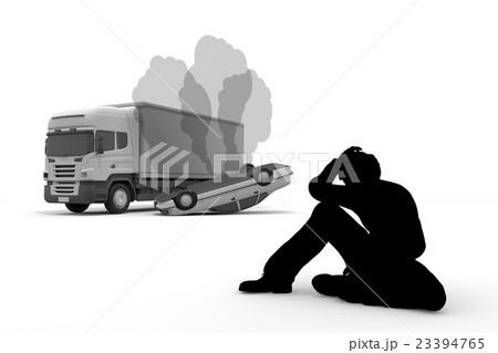 交通事故/衝突/落胆 23394765