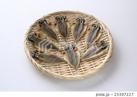 豆アジの干物の写真素材 [23397227] - PIXTA