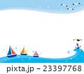 海の風景イラスト 23397768
