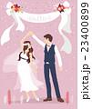 新婦 花嫁 ダンスのイラスト 23400899