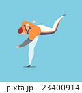 アスリート ベースボール 野球のイラスト 23400914