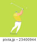 アスリート GOLF ゴルフのイラスト 23400944