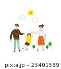 家族 女子 人のイラスト 23401539