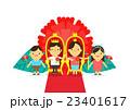 子 ファミリー 家庭のイラスト 23401617