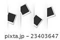 フレーム 枠 ポラロイドのイラスト 23403647