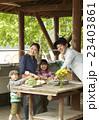 親子 家族 ファミリーの写真 23403861