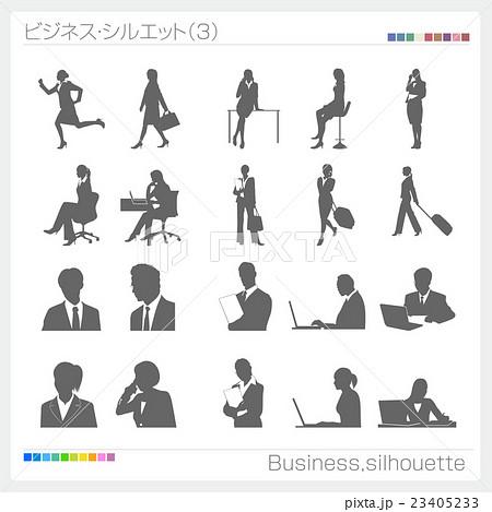 ビジネスマン 人 ピクトサイン 記号 マーク アイコン 23405233