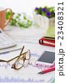 株 金融 株価チャート オフィス ビジネス 会議 ミーティング 打ち合わせ  経済 23408321
