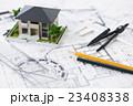 建設 建築 不動産 図面 ビジネス オフィス 設計図 設計 23408338