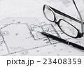 建設 建築 不動産 図面 ビジネス オフィス 設計図 設計 23408359