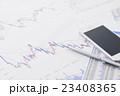 株 金融 株価チャート スマートフォン オフィス ビジネス 会議 ミーティング 打ち合わせ  経済 23408365