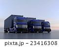 トラック 自動車 乗り物のイラスト 23416308