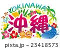 沖縄素材 アイコン ロゴ 23418573