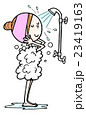 女性の日常生活26シャワー 23419163