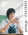 教室 女の子 学生の写真 23419493