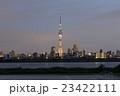 東京スカイツリー「煌」特別ライティングと東京のスカイライン_2 23422111