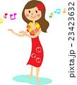 フラダンスをする女性 23423632