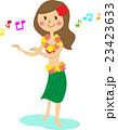 フラダンスをする女性 23423633