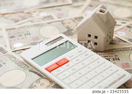 家とお金と電卓 23425535
