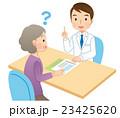 説明する医者 患者 医療 23425620