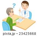 説明する医者 患者 医療 23425668