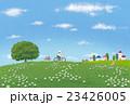 ポストカード、イラスト(サイクリング) 23426005