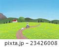 ポストカード、イラスト(道) 23426008