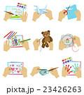 絵 刺しゅう 刺繍のイラスト 23426263