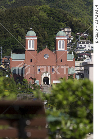 天主堂の見える丘からの浦上天主堂 23429354