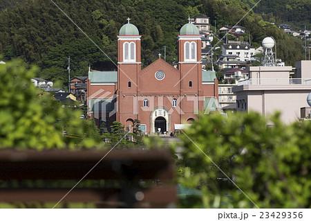 天主堂の見える丘からの浦上天主堂 23429356