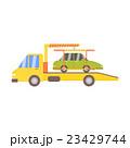トラック 積載 車のイラスト 23429744