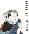 歌川国貞 東海道五十三次の内 府中 喜多八のイメージイラスト 23436166