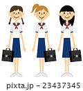 夏服の女学生  23437345