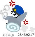 警察官の姿をした可愛い赤ちゃんペンギン 23439217