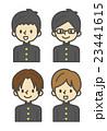 学生(男の子)【シンプルキャラ・シリーズ】 23441615