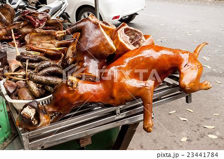 ベトナムの食用の犬肉 23441784