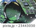 基盤 基板 ビジネス テクノロジー 研究 開発 虫眼鏡 虫メガネ 研究開発  23443030