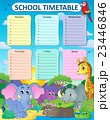 Weekly school timetable thematics 4 23446846