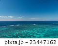 海 珊瑚礁 眺めの写真 23447162