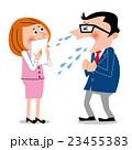 くしゃみ 鼻水 ウイルス感染 23455383