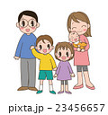 人物 家族 全身のイラスト 23456657