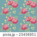 薔薇 パターン 花柄のイラスト 23456951