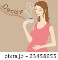 デカフェ カフェインレス コーヒーのイラスト 23458655