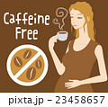 デカフェ カフェインレス コーヒーのイラスト 23458657