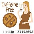 デカフェ カフェインレス コーヒーのイラスト 23458658