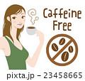 デカフェ カフェインレス コーヒーのイラスト 23458665