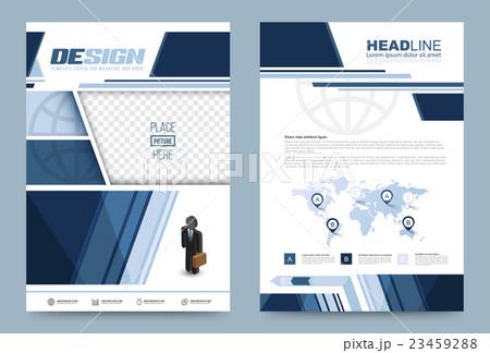 Template designのイラスト素材 [23459288] - PIXTA