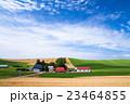 風景 美瑛の丘 畑の写真 23464855