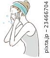 ベクター ビューティー 女性のイラスト 23466704