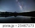 西湖より富士山と天の川 23467173